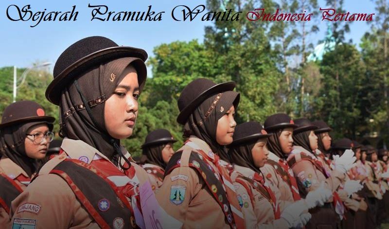 Sejarah Pramuka Wanita Indonesia Pertama