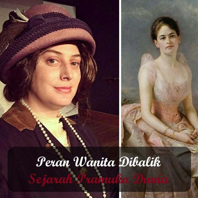 Peran Wanita Dibalik Sejarah Pramuka Dunia