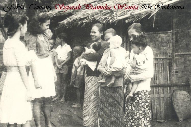 Fakta Tentang Sejarah Pramuka Wanita Di Indonesia